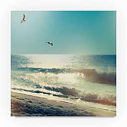 Trademark Fine Art Coastline Waves, No Words Canvas Wall Art