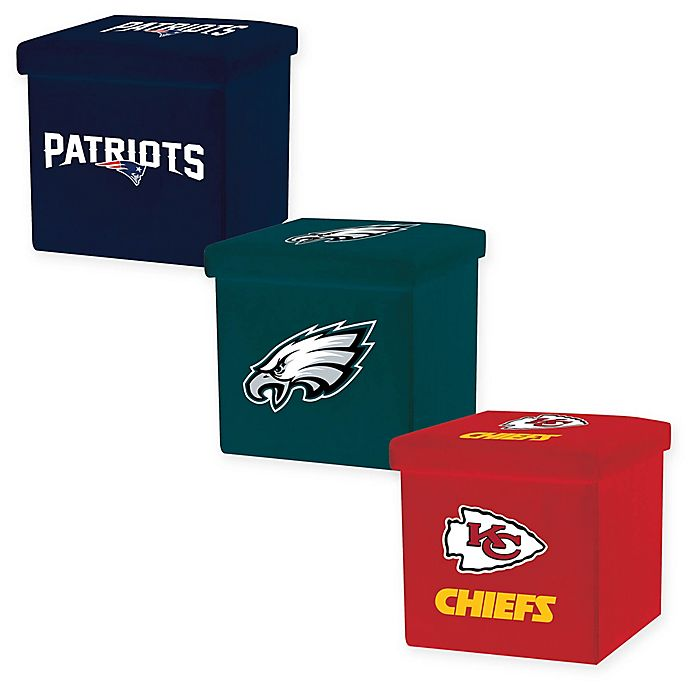 Alternate image 1 for NFL Storage Ottoman Collection