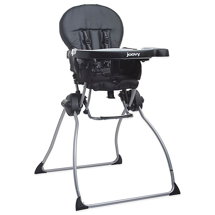 Alternate image 1 for Joovy® Nook™ High Chair in Black Leatherette