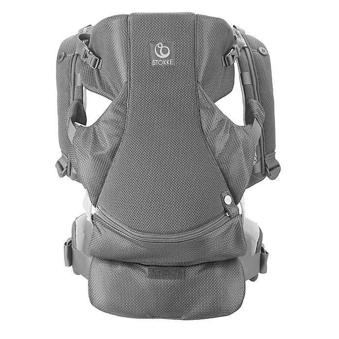 Stokke Mycarrier 3 In 1 Front And Back Mesh Carrier In Grey Mesh