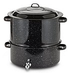 Granite Ware 19 qt. Covered Seafood Steamer With Faucet