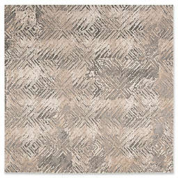 """Safavieh Meadow 6'7"""" x 6'7"""" Mallory Rug in Ivory"""