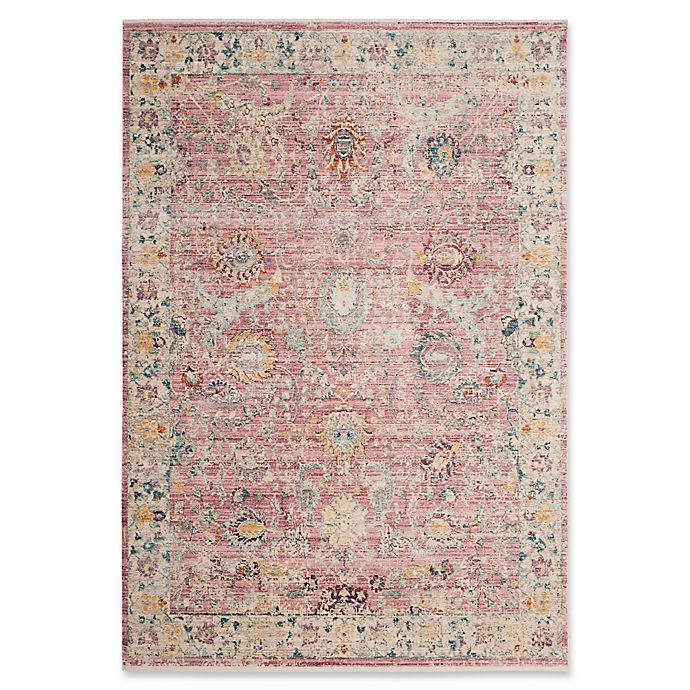 Alternate image 1 for Safavieh Illusion 6' x 9' Duras Rug in Rose