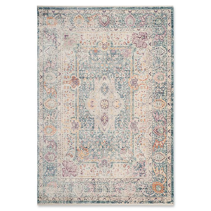 Alternate image 1 for Safavieh Illusion 6' x 9' Coutras Rug in Teal