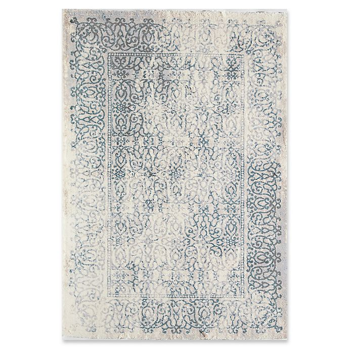 Alternate image 1 for Rugs America Brighton Faded 2' x 4' Accent Rug in Blue