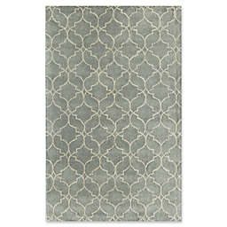 Rugs America Delano 5' x 8' Handcrafted Area Rug in Light Blue