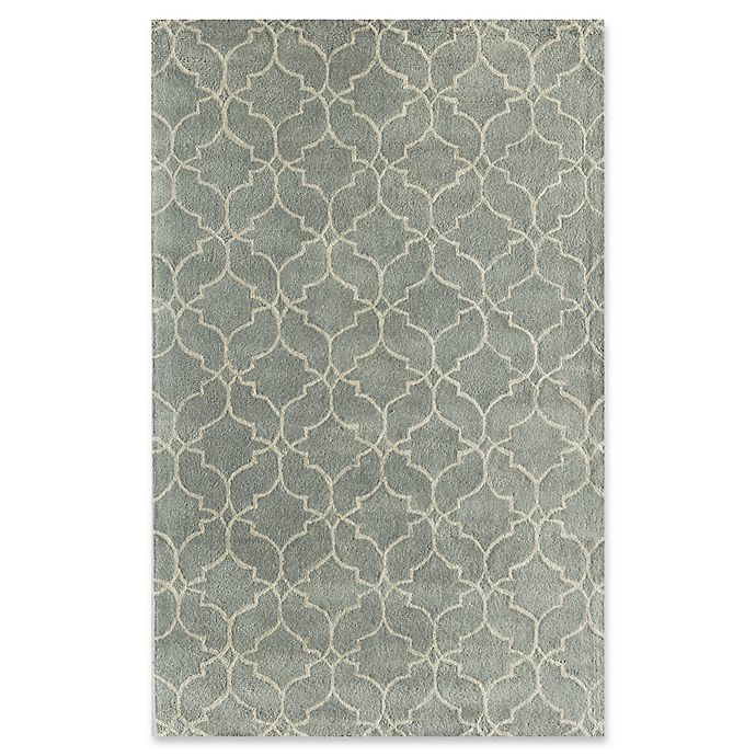 Alternate image 1 for Rugs America Delano 8' x 10' Handcrafted Area Rug in Light Blue