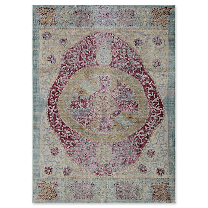 Alternate image 1 for Rugs America Asteria Geo 5' x 8' Area Rug in Ivory