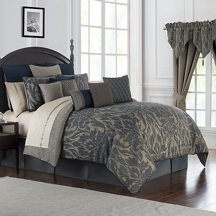 Alternate image 1 for Waterford® Gabion Reversible Comforter Set