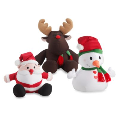 Moshi Christmas Toss Pillow Characters By Brentwood