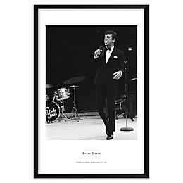 Bobby Darin 25-Inch x 37-Inch Framed Wall Art