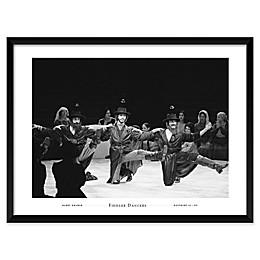 Fiddler Dancers 25-Inch x 19-Inch Framed Wall Art