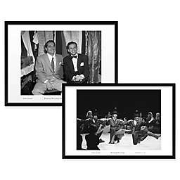 Fiddler Dancers and Sinatra/Perry Como Framed Wall Art