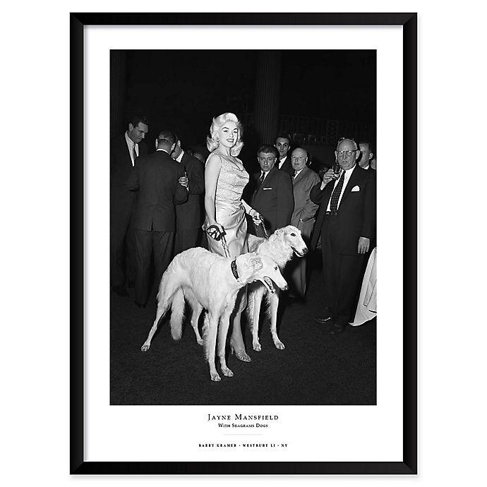 Alternate image 1 for Jayne Mansfield 25-Inch x 37-Inch Framed Wall Art