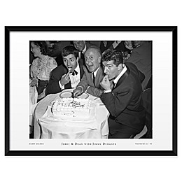 Jerry and Dean with Jimmy Durante 25-Inch x 19-Inch Framed Wall Art