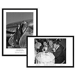 Jerry/Dean/Jimmy and Frank on TWA, NYC Framed Wall Art