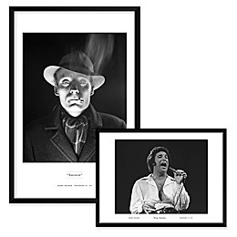 Smoker and Tom Jones Framed Wall Art
