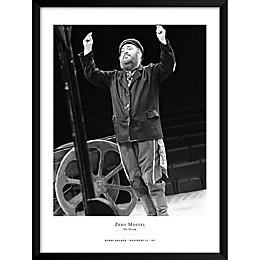 Barry Kramer's Zero Mostel on a Broadway Show 19-Inch x 25-Inch Wall Art