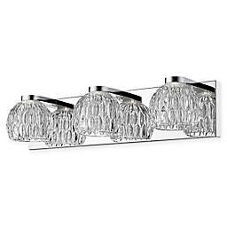 Filament Design Emily Wall-Mount LED Vanity Fixture in Chrome