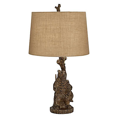 Pacific Coast® Lighting Adult Bear Table Lamp in Brown