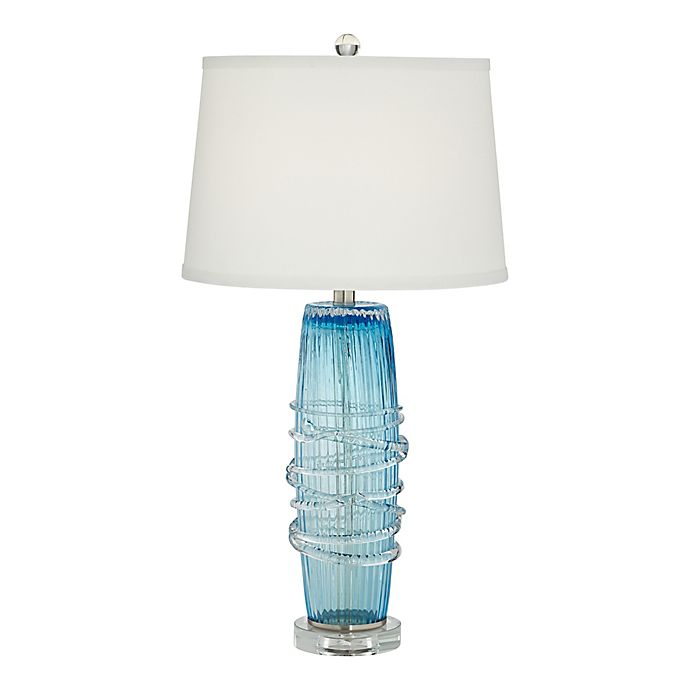 Pacific Coast 174 Lighting Seeded Glass Table Lamp In Sea
