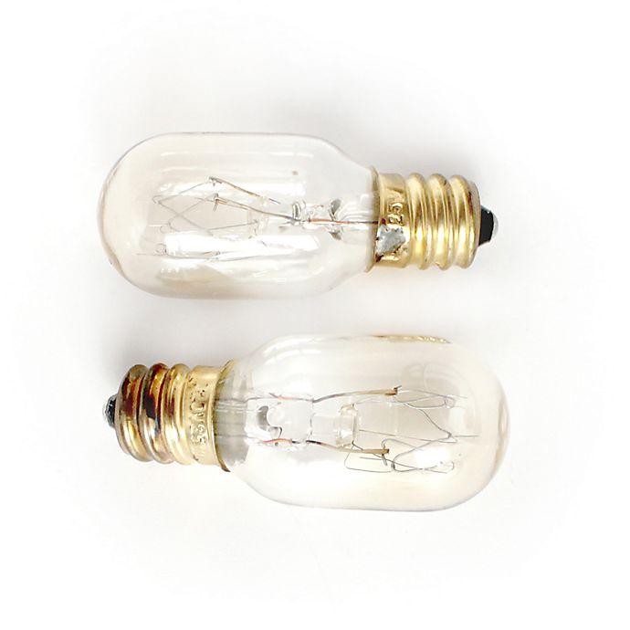 Salt Skill 2 Pack 25 Watt Replacement Bulbs For Salt Lamps Bed