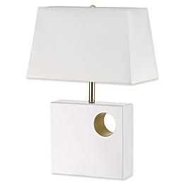 Globe Electric Vera Table Lamp in White