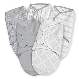 SwaddleMe® 5-Pack Original Swaddles in Grey
