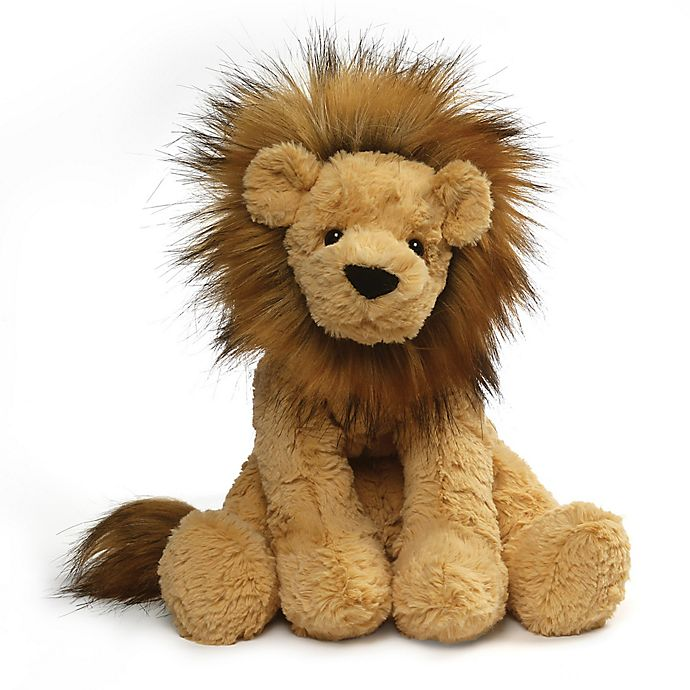 Gund Cozys Lion Large Plush Toy In Tan Bed Bath Beyond