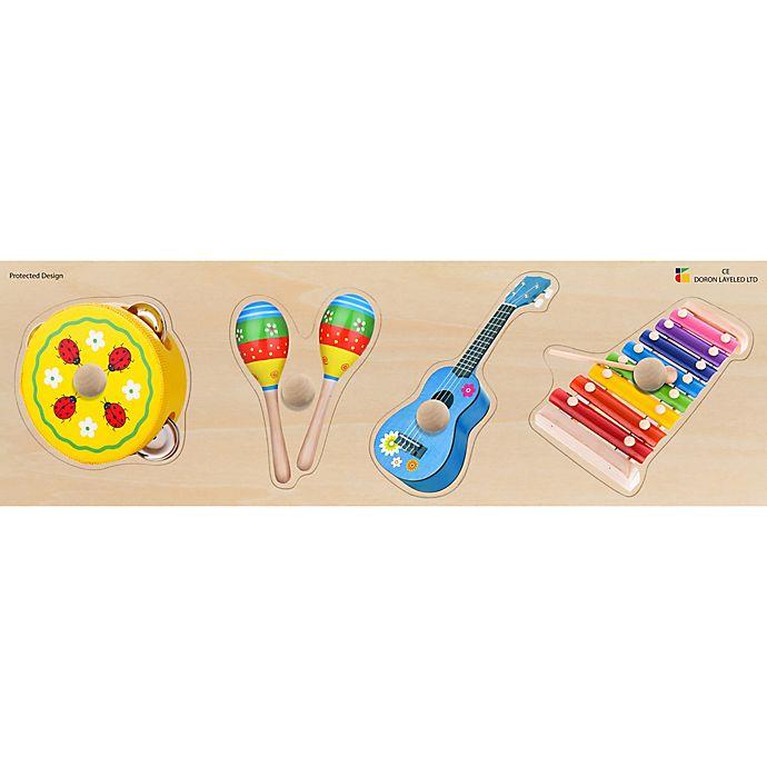 Alternate image 1 for Edushape® Musical Instruments Giant Wood Puzzle