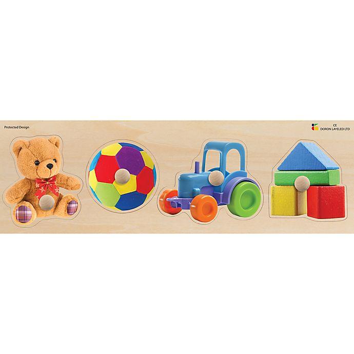 Alternate image 1 for Edushape® Toys Giant Wood Puzzle