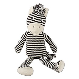 TAG Knit Zebra Plush Toy