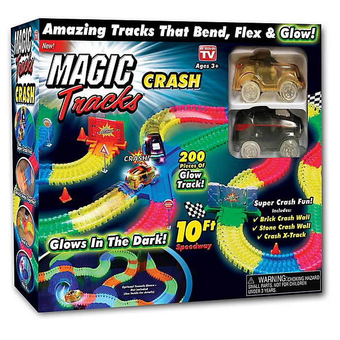 Alternate image 1 for Magic Tracks™ Crash Set