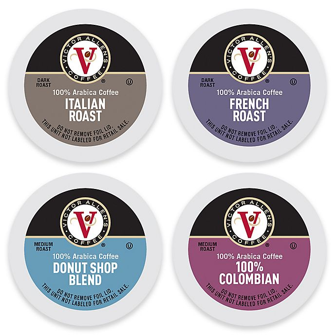 Alternate image 1 for Victor Allen® Coffee Pod Collection for Single Serve Coffee Makers