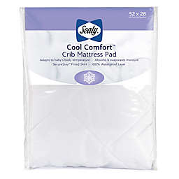 Sealy® Cool Comfort Crib Mattress Pad