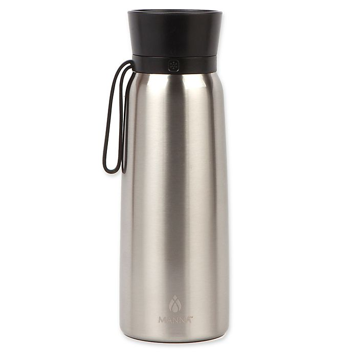 Alternate image 1 for Manna™ Helix 24 oz. Double Wall Stainless Steel Water Bottle