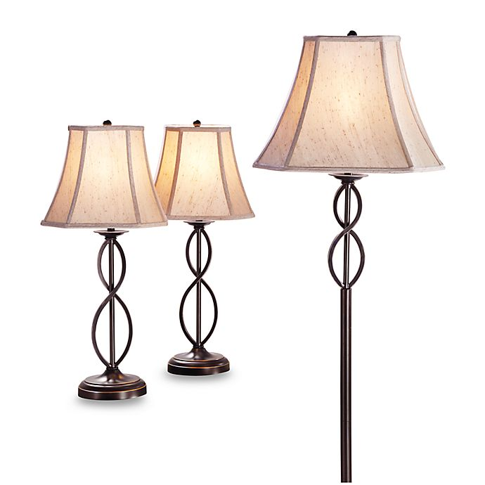 Alternate image 1 for 3-Piece Infinity Lamp Set