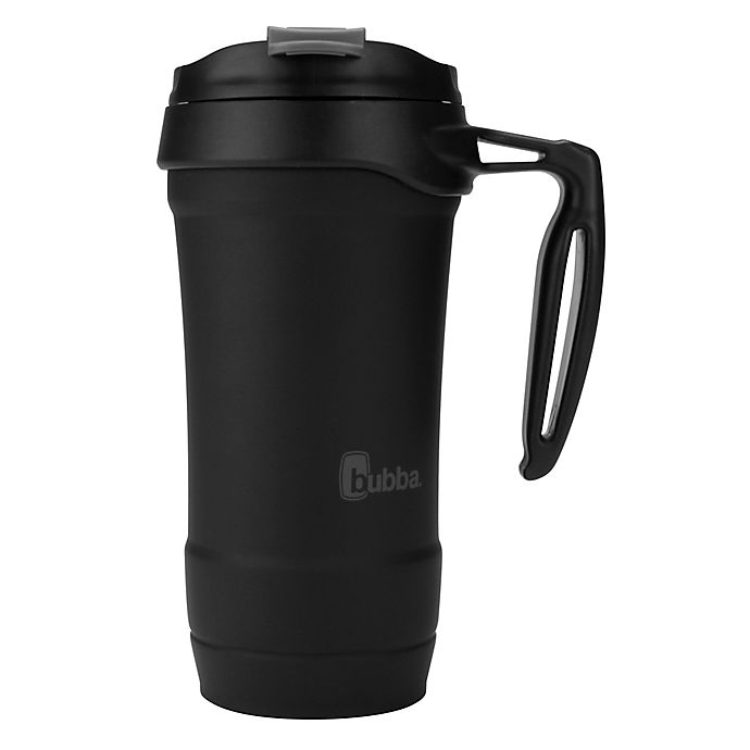 Alternate image 1 for Bubba Hero 18 oz. Insulated Stainless Steel Travel Mug with Handle in Black