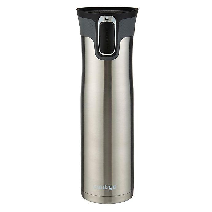 Alternate image 1 for Contigo Westloop 24 oz. Stainless Steel Vacuum Insulated Travel Bottle