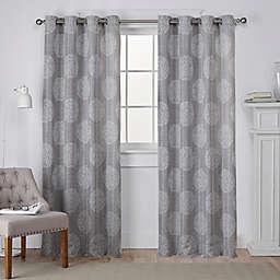 Akola Grommet Top Window Curtain Panels (Set of 2)