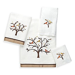 Avanti Friendly Gathering Bath Towel Collection