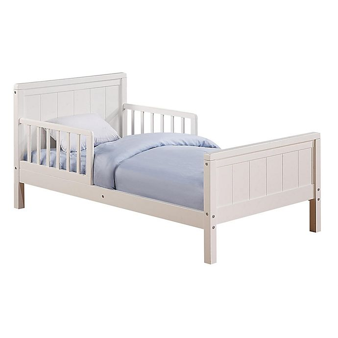 Alternate image 1 for Baby Relax Toddler Bed in White
