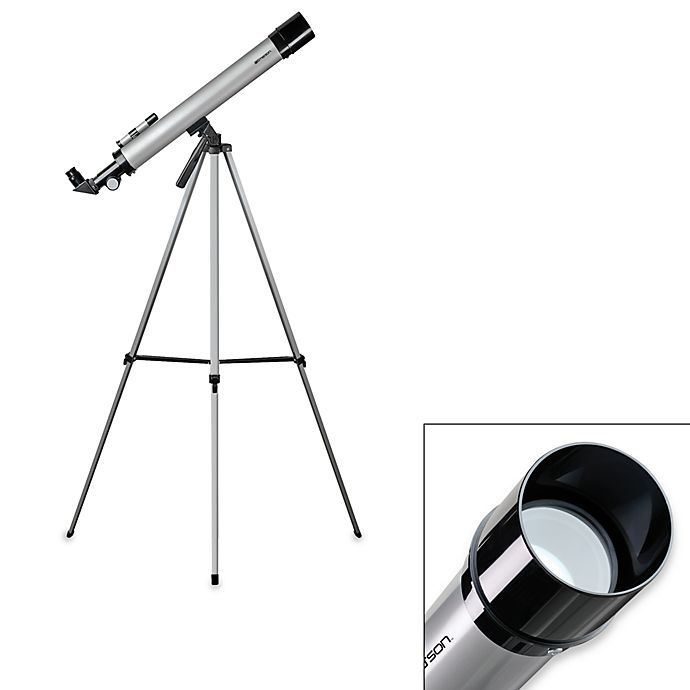 a2fe4c0b7fac2 Emerson Refractor Telescope with Tripod | Bed Bath & Beyond
