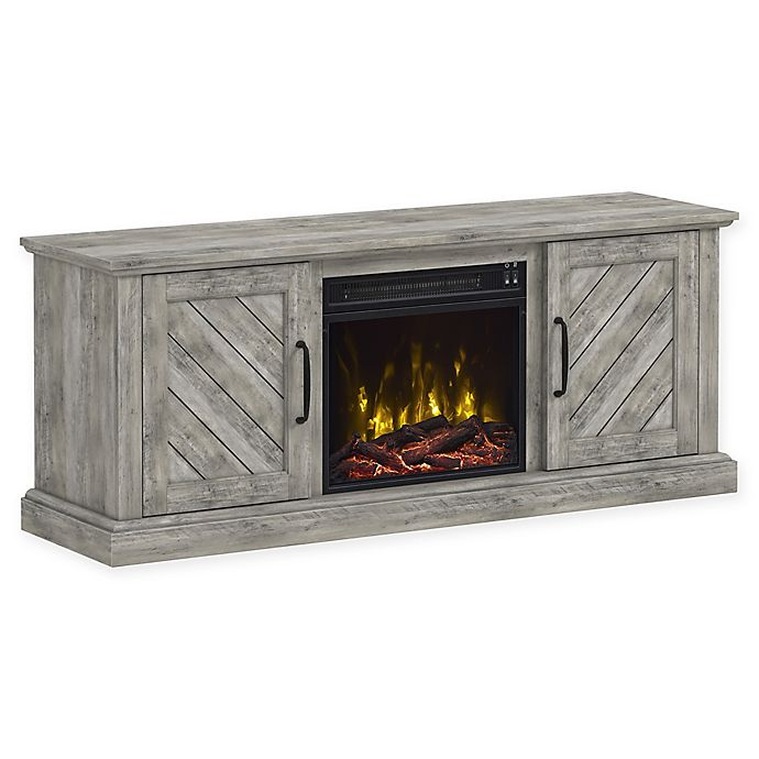 Classicflame 174 Belcrest Fireplace Tv Stand In Pine Bed
