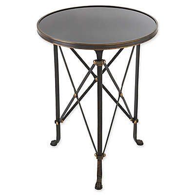Directoire Iron Accent Table in Grey