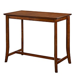Hillsdale Furniture Whitman Counter Table in Walnut