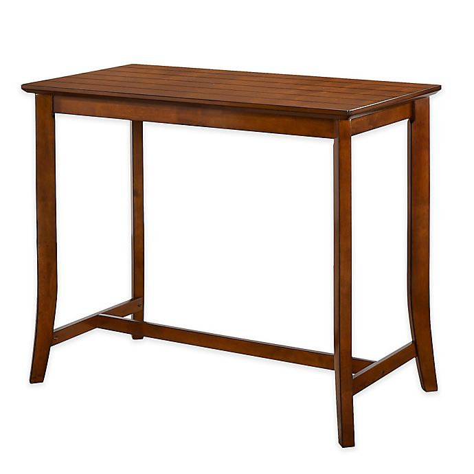 Alternate image 1 for Hillsdale Furniture Whitman Counter Table in Walnut