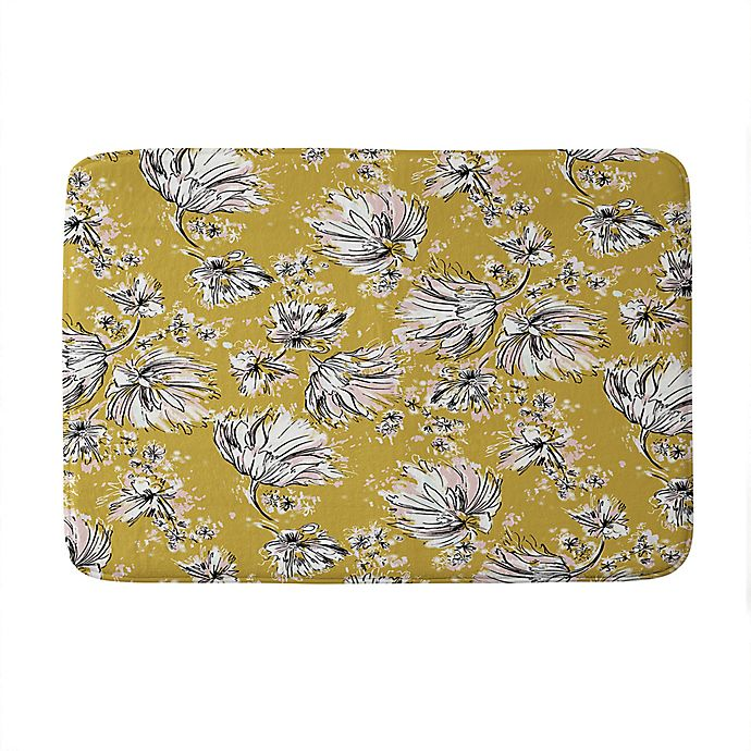 Alternate image 1 for Deny Designs Pattern State Floral Meadow Memory Foam Bath Mat