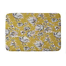 "Deny Designs 24"" x 36"" Pattern State Floral Meadow Memory Foam Bath Mat"