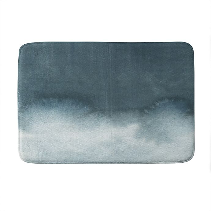 Alternate image 1 for Deny Designs Elena Blanco Storm in Grey Memory Foam Bath Mat in Grey
